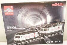 "Märklin H0 31016 E-Lok-Doppelpackung ""Gottardo 2016"" mfx-+-digital Sound   M71"