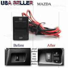 FOR MAZDA CX-7/CX-9/RX-8/MPV DUAL USB POWER ADAPTER 12V DIRECT FIT PNP UPGRADE