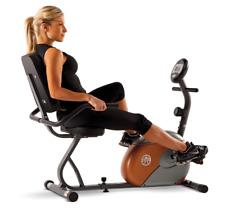 Marcy Magnetic Resistance Recumbent Adjustable Handlebars Exercise Bike NEW