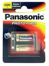Baterías Panasonic para cámaras de vídeo y fotográficas