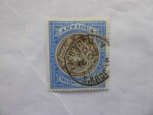 Antigua 1923 2 1/2d very fine used