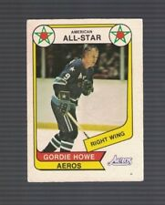 Gordie Howe Houston Aeros 1976-77 WHA O-Pee-Chee Hockey Card #72