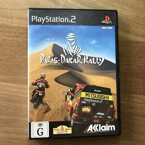 Sony Playstation 2 Game PS2 Paris-Dakar Rally Complete with manual PAL VGC