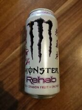 1 Volle Energy Drink Dose Monster Rehab White Dragon Fruit Full Can USA 473ml