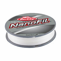 BERKLEY NANOFIL - 270m - TRANSPARENT BROUILLARD - DIVERS POIDS
