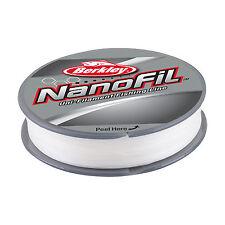 BERKLEY NANOFIL - 270m - TRANSPARENTE MIST - VARIOS PESOS