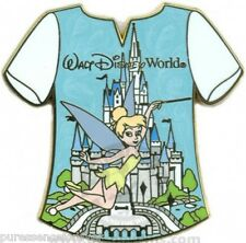 Disney Pin: WDW Gold Card - Character T-Shirts: Tinker Bell (LE 1000)
