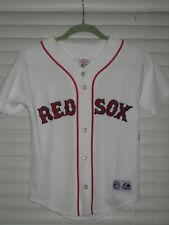 Boston Red Sox Baseball Jersey, Varitek #33, White, Youth Small, NWOT