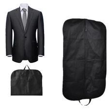 Black Dress Storage Garment Suit Coat Travel Cover Hanger Protector Carrier Bag*