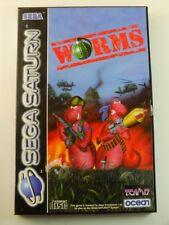 !!! SEGA SATURN SPIEL Worms OVP, gebraucht aber GUT !!!