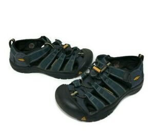 KEEN Waterproof Youth Newport H2 Sandals Blue Kids Boys Size 2
