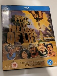 Monty Python's The Meaning of Life Blu Ray Steelbook new Sealed OOP rare