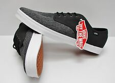 Vans Madero 2 Tone Suiting Black True White VN-0XHXF6T Men's Size 11.5