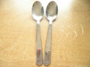 Two large serving spoons by Villeroy Boch