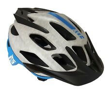 Fox Flux Women's Cycling Helmet - Grey/Blue - 50-54cm - Missing Spare Pads