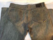 Ecko Unltd Men's Jeans Gray Denim Straight Fit Sz 42 x 33 Inseam   N28