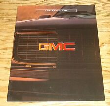 Original 1996 GMC Truck Full Line Sales Brochure 96 Jimmy Sierra Yukon Sonoma