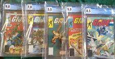 G I Joe 2004 Action Figure App 1,2,21,24,26 CGC