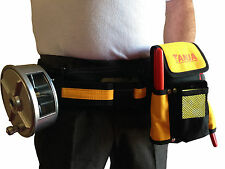 TOOL BELT PADDED SUPER COMFORTABLE - with the lot! Pencil, Nips, Braces, Wheel