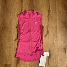 PEARL iZUMi Womens Select Sleeveless Jersey Pink Size X-Small $50