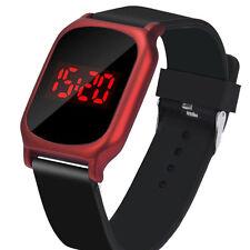 Luxury Men's Women's Fashion LED Digital Touch Date Quartz Sports Wrist Watches