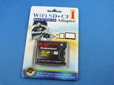 Compact Flash Adapter WiFi SD SDHC auf to CF bis 64 Gb Professional Type I UDMA