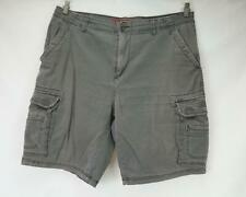 Unionbay Cargo Shorts Gray Men's Waist 40