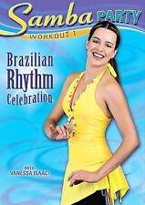 Samba Party Workout 1 Brazilian Rhythm Dance DVD New Dancing Fitness Exercise