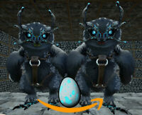 Ark Survival Evolved PC - PVE NEW - [x2] Fert. BLACK SNOW OWL Eggs