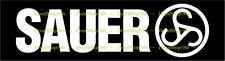 Sauer Firearms - Outdoor / Hunting Sports - Vinyl Die-Cut Peel N' Stick Decals