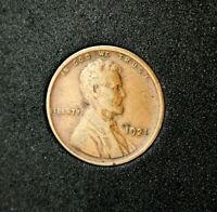 1921 Lincoln Wheat Cent~VF~Very Fine~Brown~Combined Shipping~