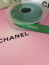 🎀 New Chanel Gold Ribbon Roll Satin Paris Very Rare 1.5cm 🛍