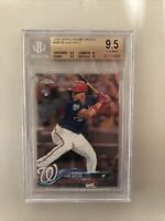 Juan Soto BGS 9.5 Gem Mint 2018 Topps Chrome Rookie Card .5 Away From Pristine