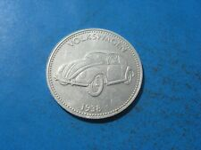 1938 VW Volkswagen automobile shell JETON COIN