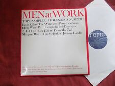 VARIOUS Men at work LP FOLK Topic sampler