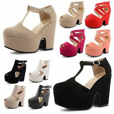 Strappy, Ankle Straps Faux Suede Casual Shoes for Women