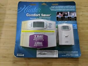 New Hunter # 44668 Thermostat  Comfort Saver 7 Day Program