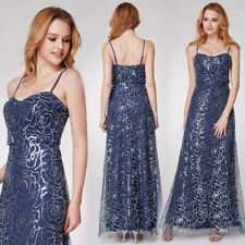 Ever-Pretty Long Formal Sequins Wedding Dresses Evening Bridesmaid Gown 07288