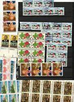 Lot timbres USA par blocs lot 2