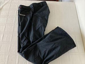 IMPERFECT Volcom Nimbus Mens Sz Large Black 5,000mm  Snow Pants TS1