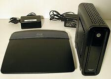 Motorola SURFboard SB6121 Cable Modem + Cisco Linksys EA3500 Wireless Router