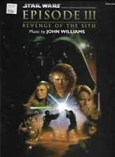 (M) musique Livre-Star Wars Episode III Revenge Of The Sith-Piano Solos