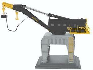 LIONEL #82033 MOW COMMAND CONTROL TRACKSIDE CRANE, BRAND NEW IN BOX!!