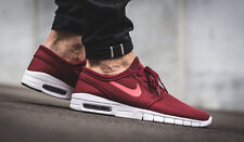 NIKE STEFAN JANOSKI MAX Trainers Skateboarding SB Air - UK 10 (EUR 45) Team Red