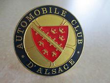 Vintage Alsace car badge for Peugeot Citroen Renault Amilcar Panhard Delahaye