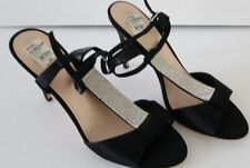 IM CALLEEN Black size 9.5M open toe women's shoes high heel