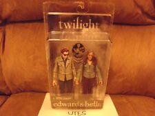 Twilight Edward & Bella 2009 NECA Action Figures Unopened New