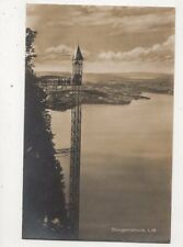 Buergenstock Lift Switzerland 1927 RP Postcard Goetz 465b