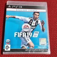 FIFA 19 Legacy Edition Ronaldo Cover PlayStation 3 PS3 English Brand New