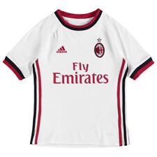 Camisetas de fútbol de clubes italianos blancos AC Milan
